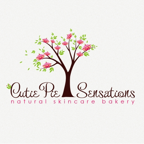Cute Pie Tree Logo