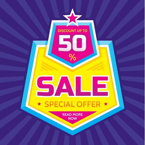Discount offer banner