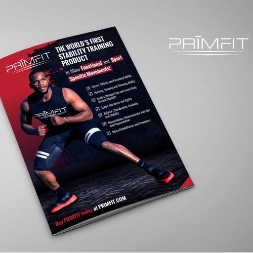 Brochure Design for Fitness Industry