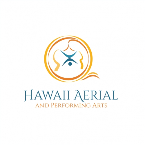 Logo design for Hawaii Aerial and Performing Arts