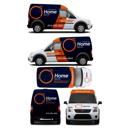 Car/Truck or Van Wrap Design