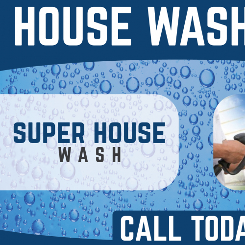 House Washing Banner Ad Design