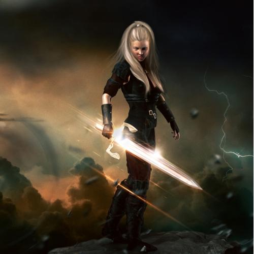 Female Warrior (fantasy)