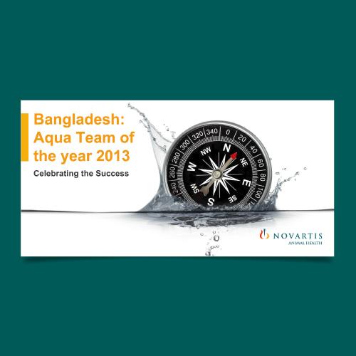 Bangladesh: Aqua Team of The Year 2013 - Novartis