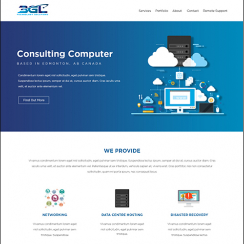3GL Technology Solutions requires a new website