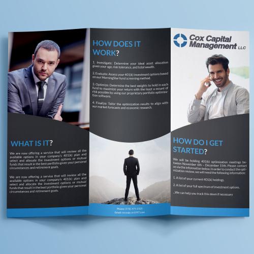 Try fold brochure