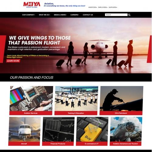 Design A Website For Meiya Group Global