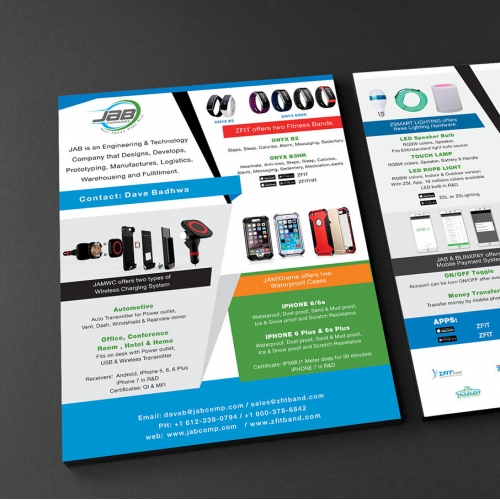 Flyer Design Front and Back