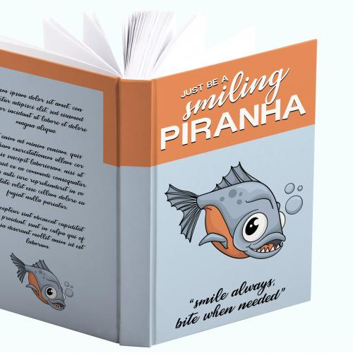 Book Cover Design - Piranha
