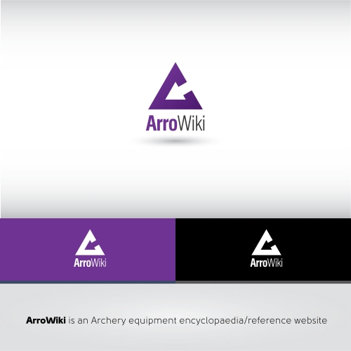 ArroWiki logo design