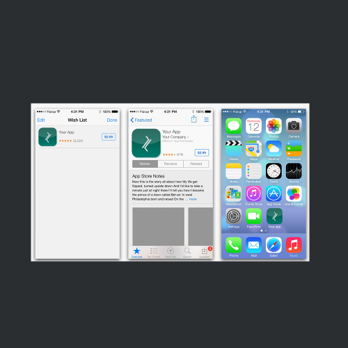 app icon button
