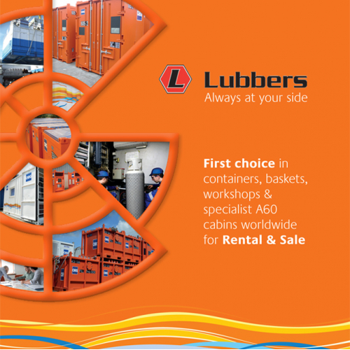 Lubbers Offshore brochure cover