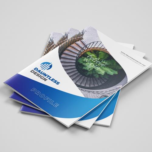 Brochure Design / Product Flyer / Company Portfolio