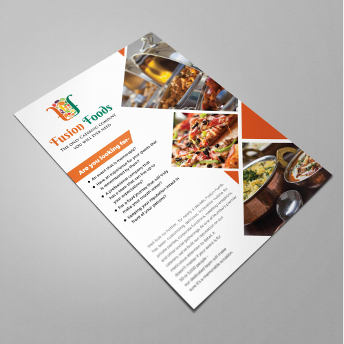Fusion Foods Flyer