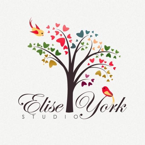 Elise York Logo _ cute tree design