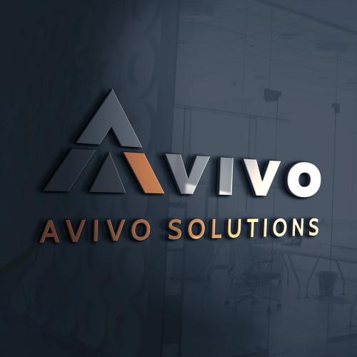 Avivo Solutions Logo Design