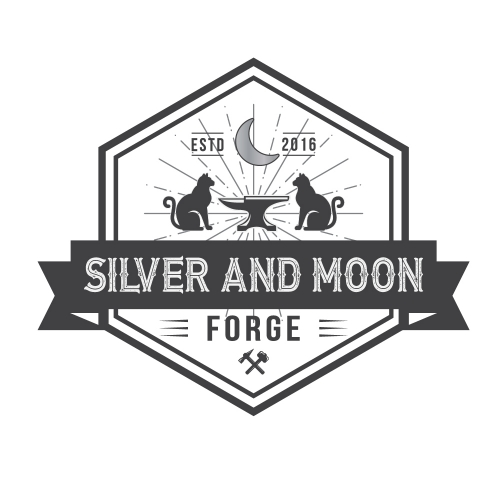 Silver and moon