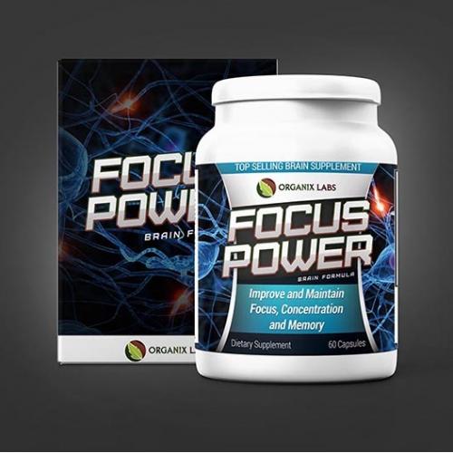 Focus Power Label Design