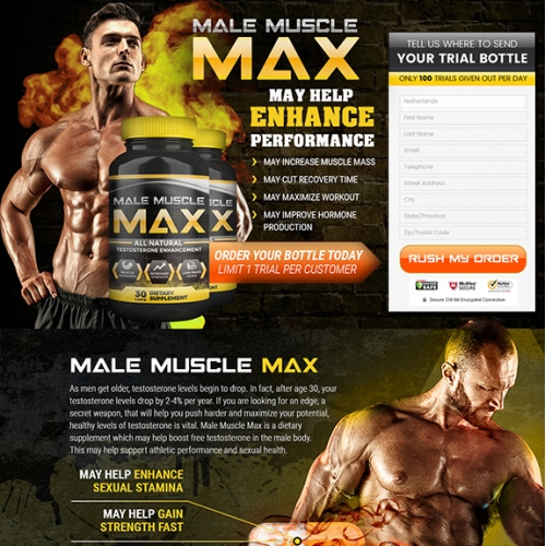Male Muscle Max