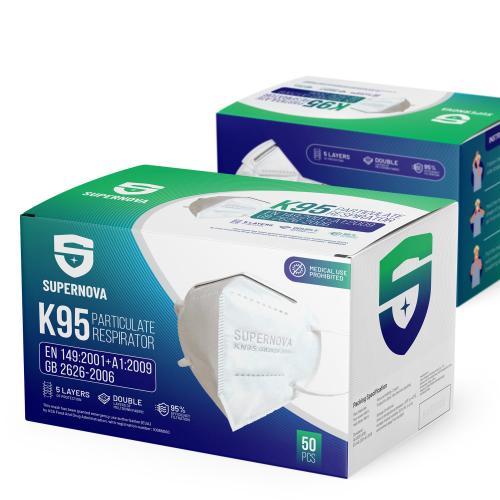 N95 Mask Box Design