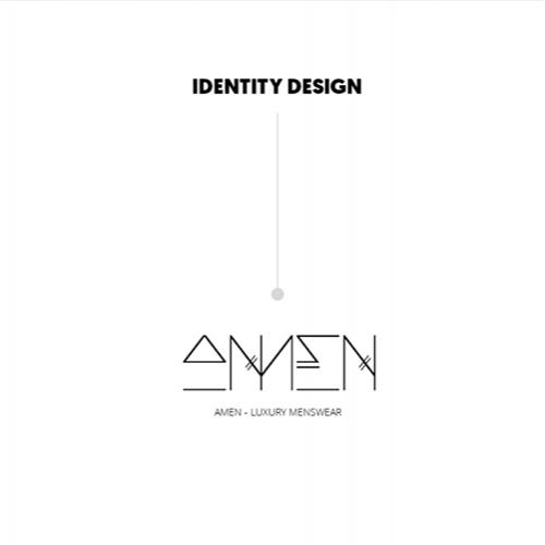 Brand Identity Design - A'MEN Menswear