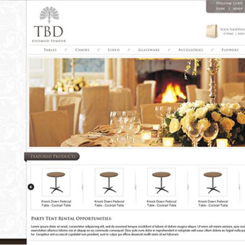 Website Design TBD - E-Commerce