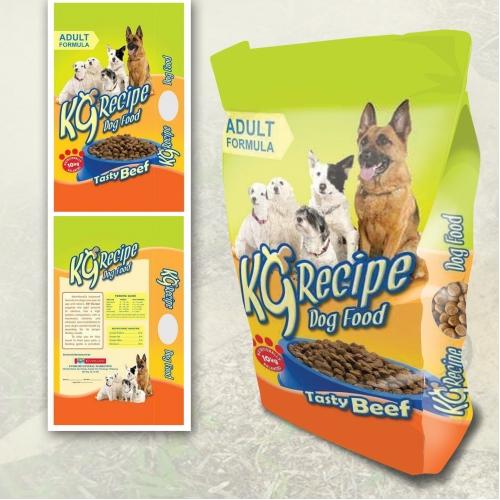 K9 Recipe Packaging Design