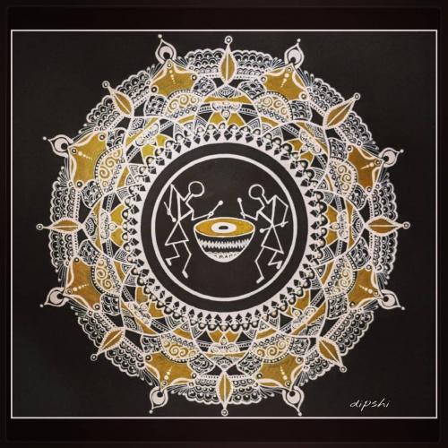 Warli ,an Indian tribal art