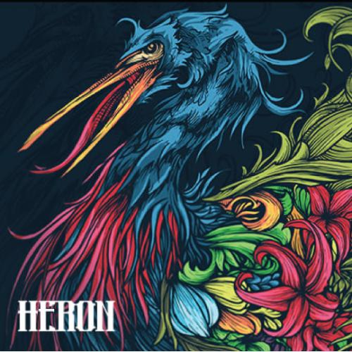 heron illustration design