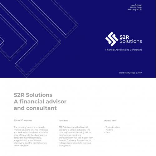 S2R Solution LLC Brand Identity