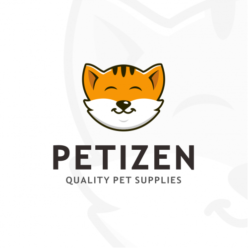 Logo for a pet shop