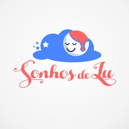 Sonhos de Lu - Logo