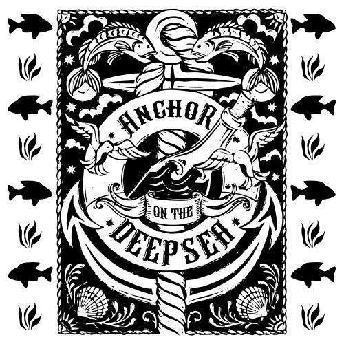 Anchor art illustration