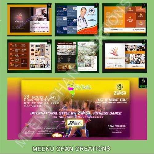 Brochure, Poster designs