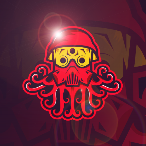 Octopus Mask Esports Logo