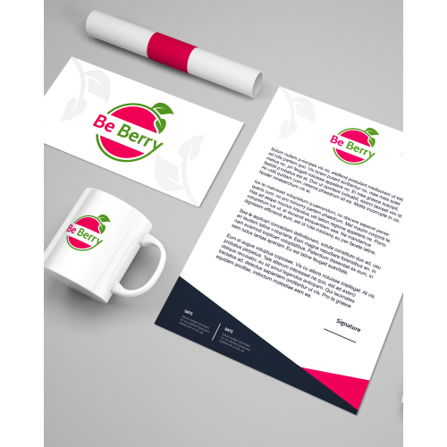 Be Berry Logo