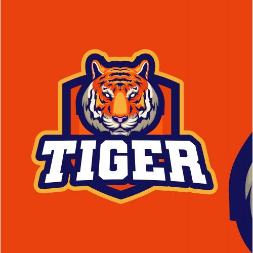Tiger Esport Logo Design