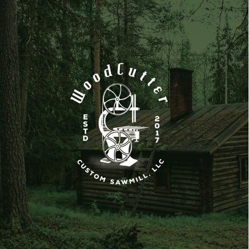 Wood Cutter Logo
