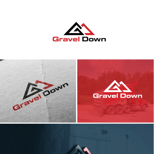 gravel down logo