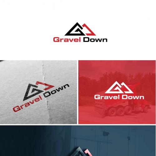 gravel down logo