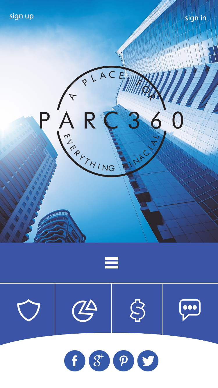 Winning Entry #2 for Mobile Apps Design contest - Internet Mobile Apps Design required by PARC360 - original