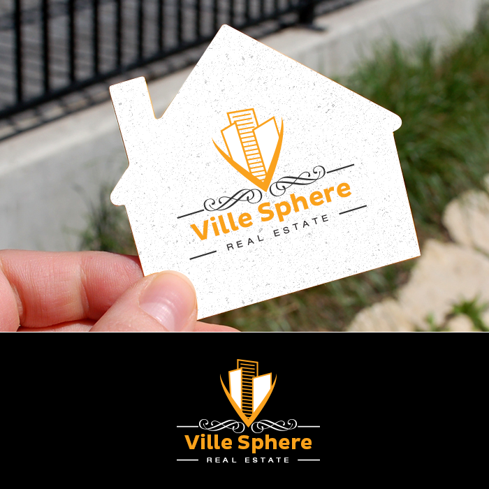 Winning Entry #34 for Logo And Business Card Design contest - Ville Sphere Real Estate Requires A Professional Logo & Business Card - original