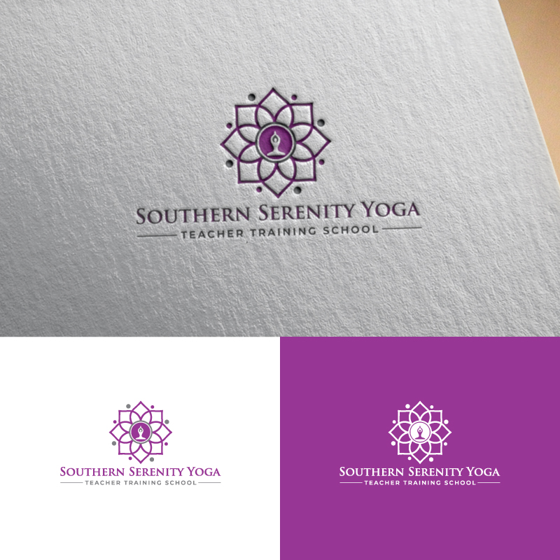 Winning Entry #75 for Logo Design contest - Yoga Logo Design required by Southern Serenity Yoga - original