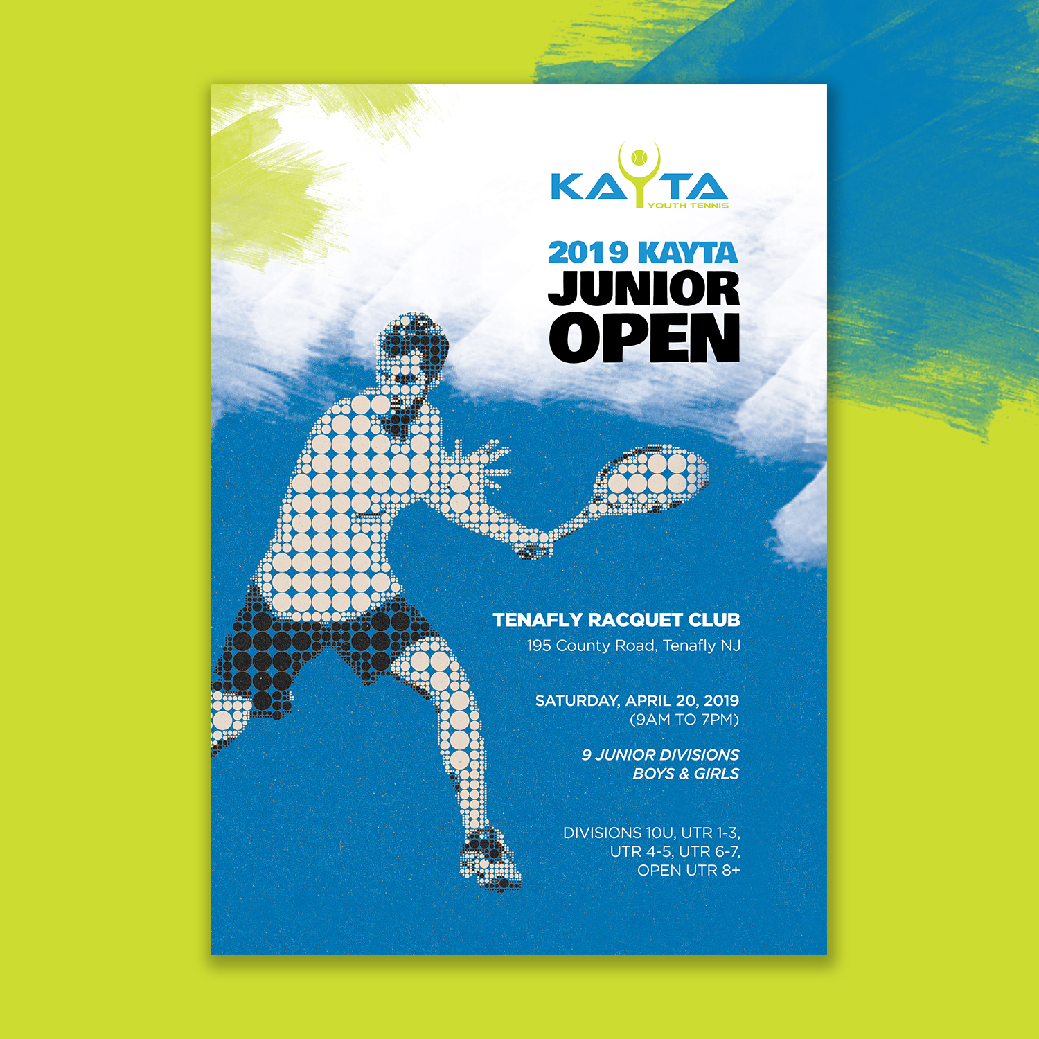 Winning Entry #14 for Poster Design contest - Tennis Tournament Poster Design required - original