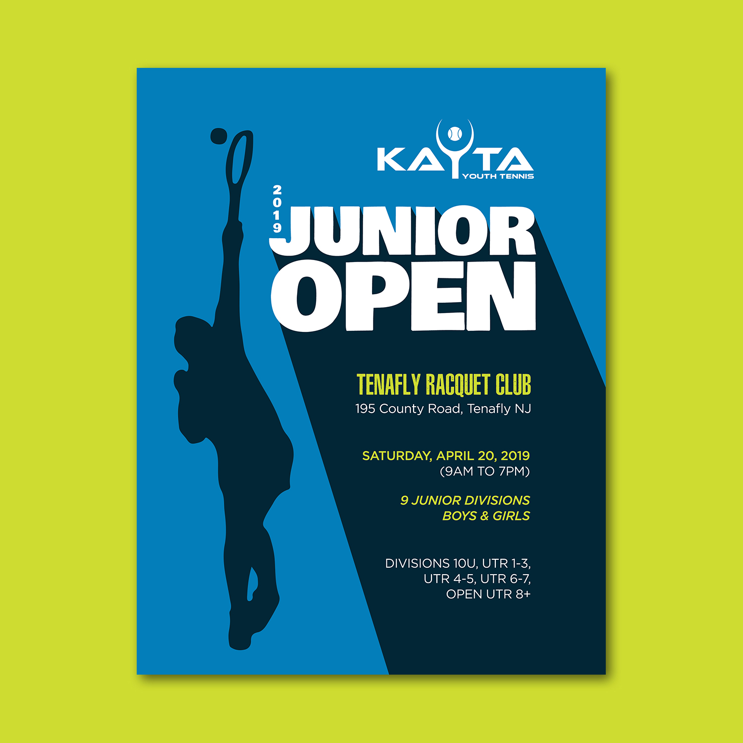 Participating Entry #18 for Poster Design contest - Tennis Tournament Poster Design required - original