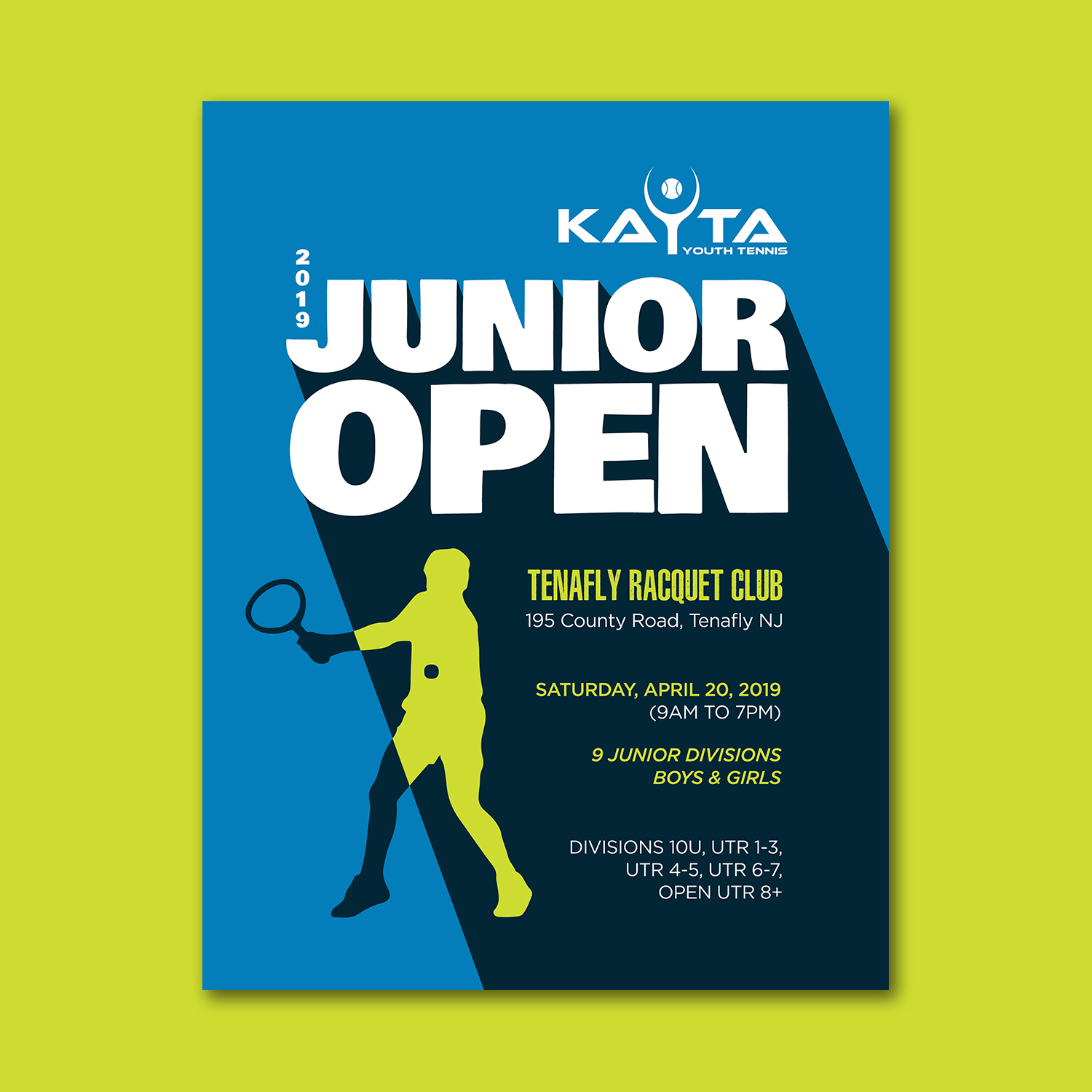 Participating Entry #16 for Poster Design contest - Tennis Tournament Poster Design required - original
