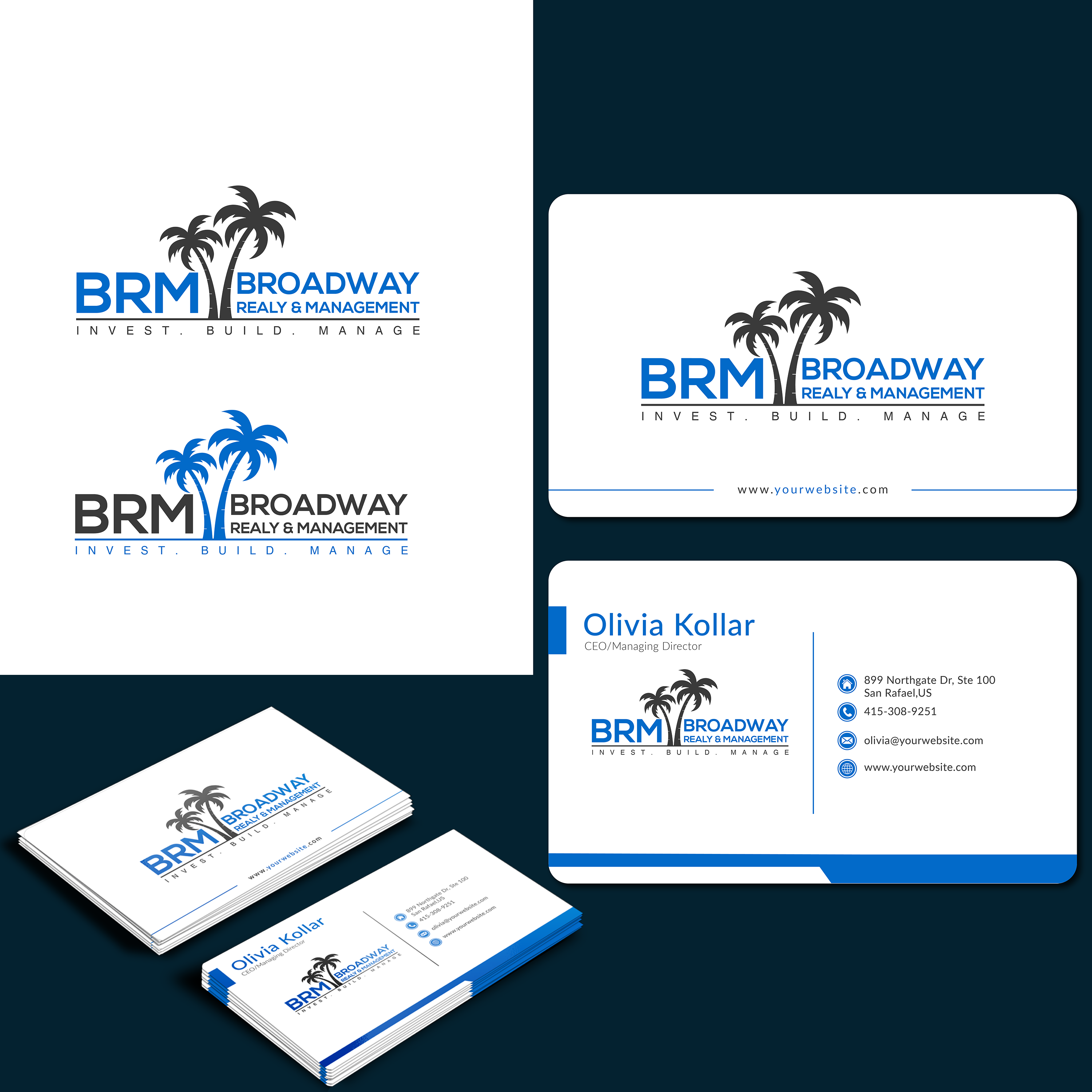 Winning Entry #164 for Logo And Business Card Design contest - Real Estate Logo And Business Card Design required - original