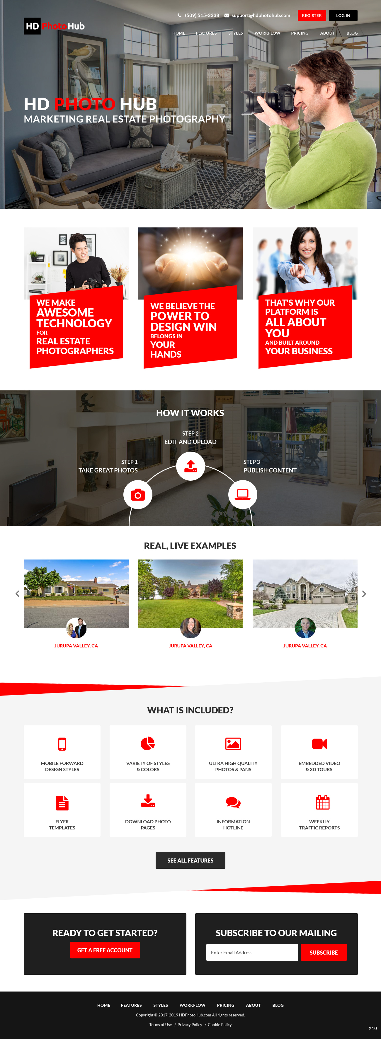 Participating Entry #8 for Website Design contest - Single Real Estate Property Listing Website Template - original