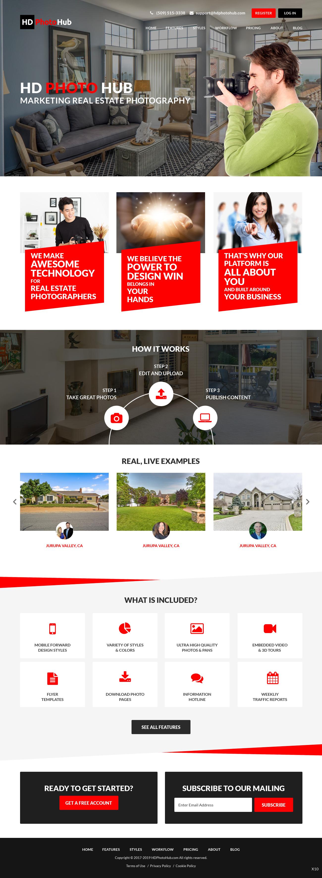 Participating Entry #8 for Website Design contest - Single Real Estate Property Listing Website Template - original