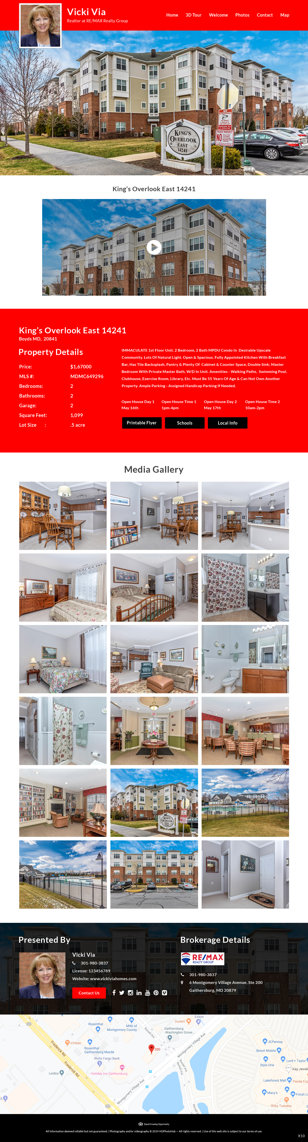 Participating Entry #16 for Website Design contest - Single Real Estate Property Listing Website Template - original